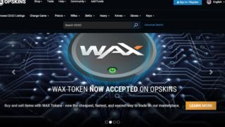 OPSkins発の仮想通貨WAX(ワックス:WAX)とは
