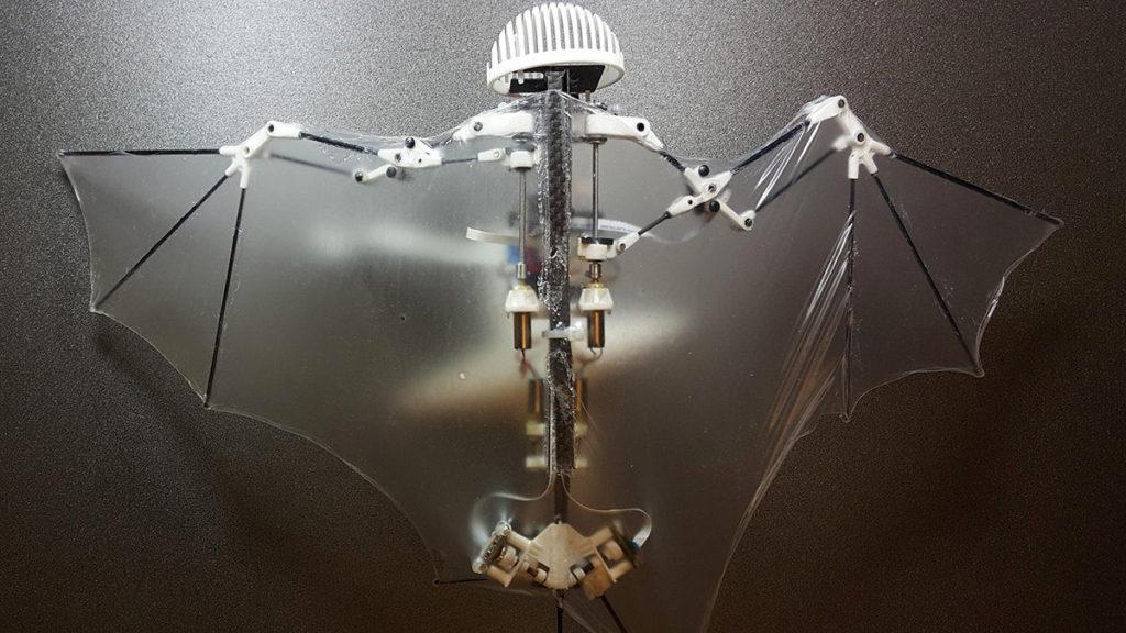 「コウモリ型飛行ロボット」のまんまコウモリ感がかなりヤバすぎる