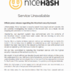 NiceHash、ハッキングされたことを正式発表