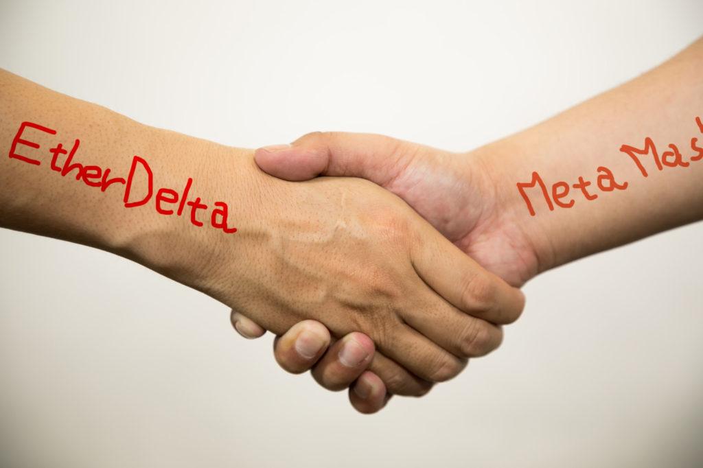 実はEtherDelta(イーサーデルタ)はMetaMask(メタマスク)と連携させずに単体でも使える